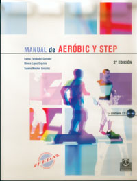 MANUAL DE AERÓBIC Y STEP (Color - Libro+CD)