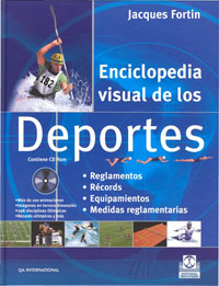 ENCICLOPEDIA VISUAL DE LOS DEPORTES (Color-Cartoné-Libro+CDROM)