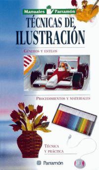 TECNICAS DE ILUSTRACION, MANUALES PARRAMON