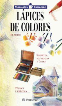 LAPICES DE COLORES, MANUALES PARRAMON TECNICAS