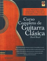 CURSO COMPLETO DE GUITARRA CLASICA (1 vol. + 1 CD)