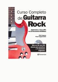 CURSO COMPLETO DE GUITARRA DE ROCK