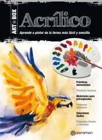 ART BOX ACR͍LICO- KIT LIBRO LÁMINAS + MATERIAL